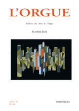 L'Orgue, n° 300 (2012/IV) Revue Livre Revues - laflutedepan.com