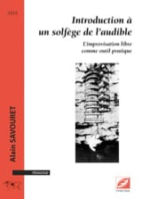 Introduction à un solfège de l'audible Alain SAVOURET laflutedepan