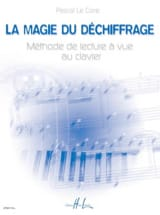LE CORRE Pascal - The magic of deciphering - Piano - Book - di-arezzo.co.uk