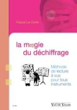 La magie du déchiffrage - LE CORRE Pascal - Livre - laflutedepan.com