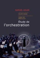 Étude de l'orchestration - Samuel ADLER - Livre - laflutedepan.com