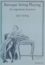 Baroque string playing Judy TARLING Livre laflutedepan.com