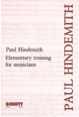 Elementary training for musicians Paul HINDEMITH laflutedepan.com