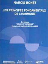 Les principes fondamentaux de l'harmonie Narcis BONET laflutedepan.com