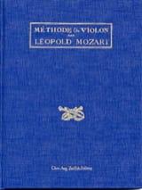 Méthode de violon Leopold MOZART Livre laflutedepan.com