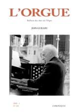 L'Orgue, n° 281 (2008/I) Revue Livre Revues - laflutedepan.com