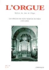 L'Orgue, n° 271 (2005/III) - Revue - Livre - Revues - laflutedepan.com
