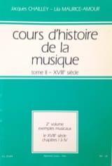 Cours d'histoire de la musique : Tome 2 vol. 2 laflutedepan.com