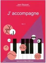 J'accompagne, volume 3 - Jean BACQUET - Livre - laflutedepan.com