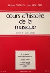 Cours d'histoire de la musique : Tome 3 vol. 2 laflutedepan.com