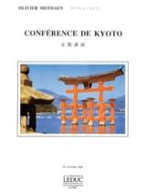Conférence de Kyoto Olivier MESSIAEN Livre laflutedepan.com