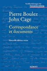 Correspondance et documents BOULEZ Pierre / CAGE John laflutedepan.com