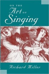 Richard MILLER - On the Art of Singing - Book - di-arezzo.co.uk