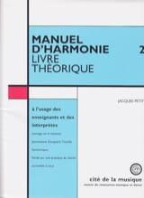 Jacques PETIT - Harmony Manual, Vol. 2: Theoretical book - Book - di-arezzo.co.uk