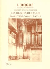 L'orgue, n° 57-58 - Cahiers et mémoires (1997) Revue laflutedepan.com
