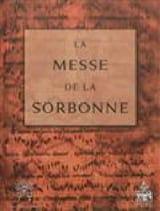La messe de la Sorbonne coll. Livre Les Epoques - laflutedepan.com