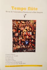 Tempo flûte n° 10 (2e semestre 2014) Revue Livre laflutedepan.com