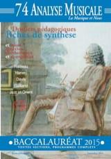 Revue - Analyse Musicale n° 74 - BAC 2015 - Livre - di-arezzo.fr