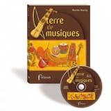Terre de musiques Martine HAERRIG Livre Les Oeuvres - laflutedepan.com