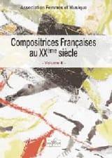 Compositrices françaises au XXe siècle, vol 2 - laflutedepan.com