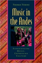 Music in the Andes - Thomas TURINO - Livre - laflutedepan.com