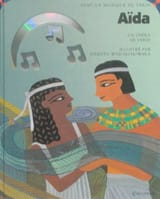 Aïda Giuseppe VERDI Livre Découverte des oeuvres - laflutedepan.com