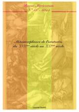 Musicorum n°16: Métamorphoses de l'oratorio, du XVIIème siècle au XXIème siècle. laflutedepan