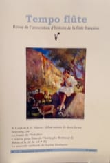 Tempo Flûte n°12 (Deuxième semestre 2015) Revue Livre laflutedepan.com