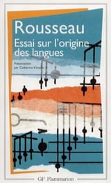Essai sur l'origine des langues : où il est traité de la mélodie laflutedepan.com