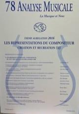 Analyse Musicale n° 78 THEME AGREGATION 2016 Revue laflutedepan.com