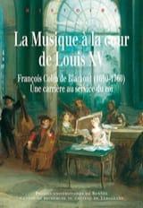 La musique à la cour de Louis XV Benoît DRATWICKI laflutedepan.com