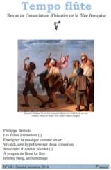 Tempo Flute n° 14 Second semestre 2016 Revue Livre laflutedepan.com