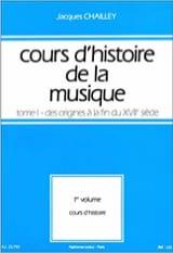 Cours d'histoire de la musique : Tome 1 vol. 1 - laflutedepan.com