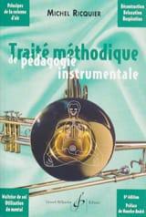 Michel RICQUIER - Methodical treatise of instrumental pedagogy - Book - di-arezzo.co.uk