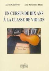 Un cursus de 10 ans à la classe de violon laflutedepan