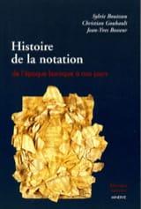 Histoire de la notation de l'époque baroque à nos jours laflutedepan