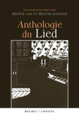 Anthologie du lied Hélène CAO Livre Les Oeuvres - laflutedepan.com