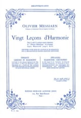 20 Leçons d'Harmonie - Olivier MESSIAEN - Livre - laflutedepan.com