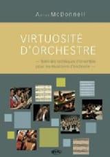 Virtuosité d'orchestre MC DONNELL Adrian Livre laflutedepan.com