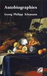 Autobiographies Georg Philipp TELEMANN Livre laflutedepan.com