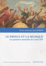 Le prince et la musique Jean dir. DURON Livre laflutedepan.com