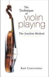 The Technique of violin playing : The Joachim Method (Livre en anglais) laflutedepan.com
