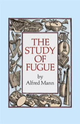 The study of fugue (Livre en anglais) Alfred MANN laflutedepan.com