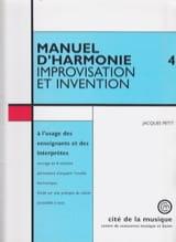 Jacques PETIT - Harmony Manual, Vol. 3: Themes directory - Book - di-arezzo.co.uk