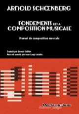 Arnold SCHOENBERG - Fondements de la composition musicale - Livre - di-arezzo.fr