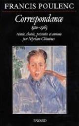 Correspondance 1910-1963 Francis POULENC Livre laflutedepan.com