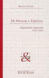 De Weimar à Térézine Bruno GINER Livre Les Epoques - laflutedepan.com