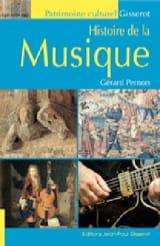 Histoire de la musique Gérard PERNON Livre laflutedepan.com
