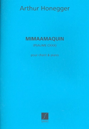 Mimaamaquim - Arthur Honegger - Partition - laflutedepan.com