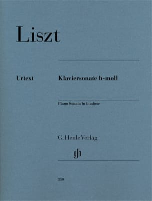 Franz Liszt - Sonata in Si Minor - Sheet Music - di-arezzo.com